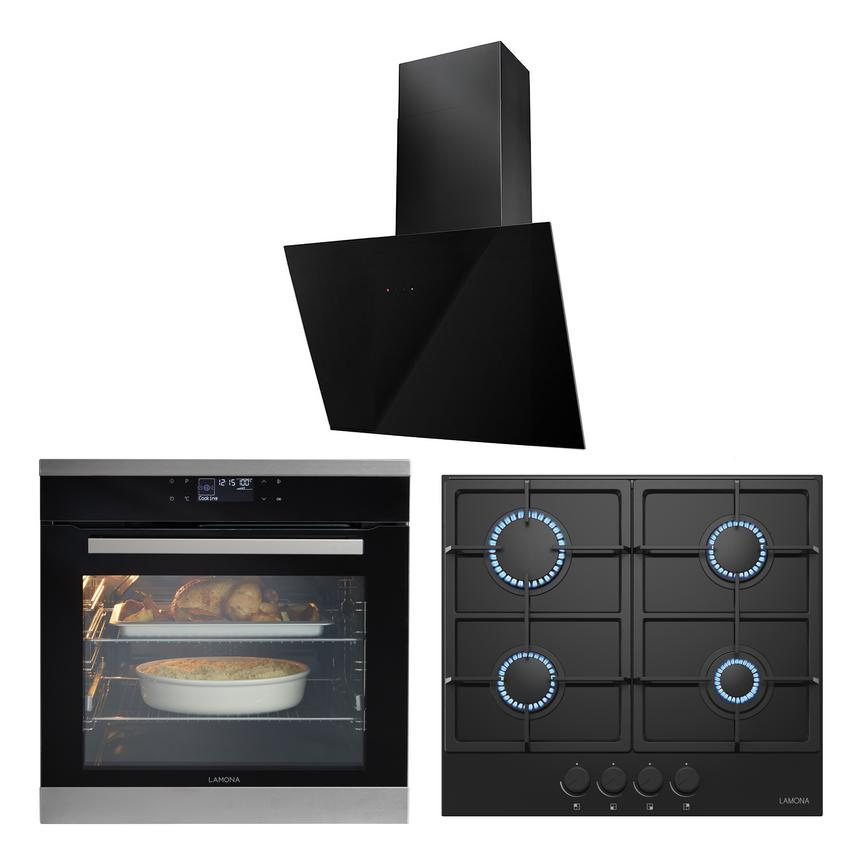 LMP9111 Oven Hob and Hood Cooking Package
