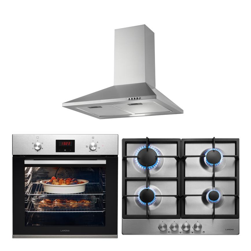LMP9220 Oven Hob and Hood Cooking Package