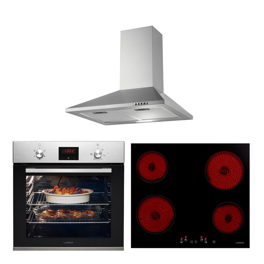 LMP9230 Oven Hob and Hood Cooking Package