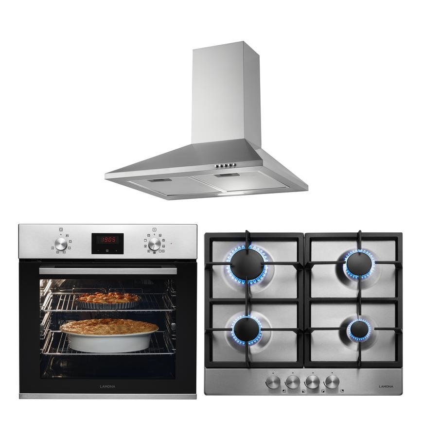 LMP9240 Oven Hob and Hood Cooking Package
