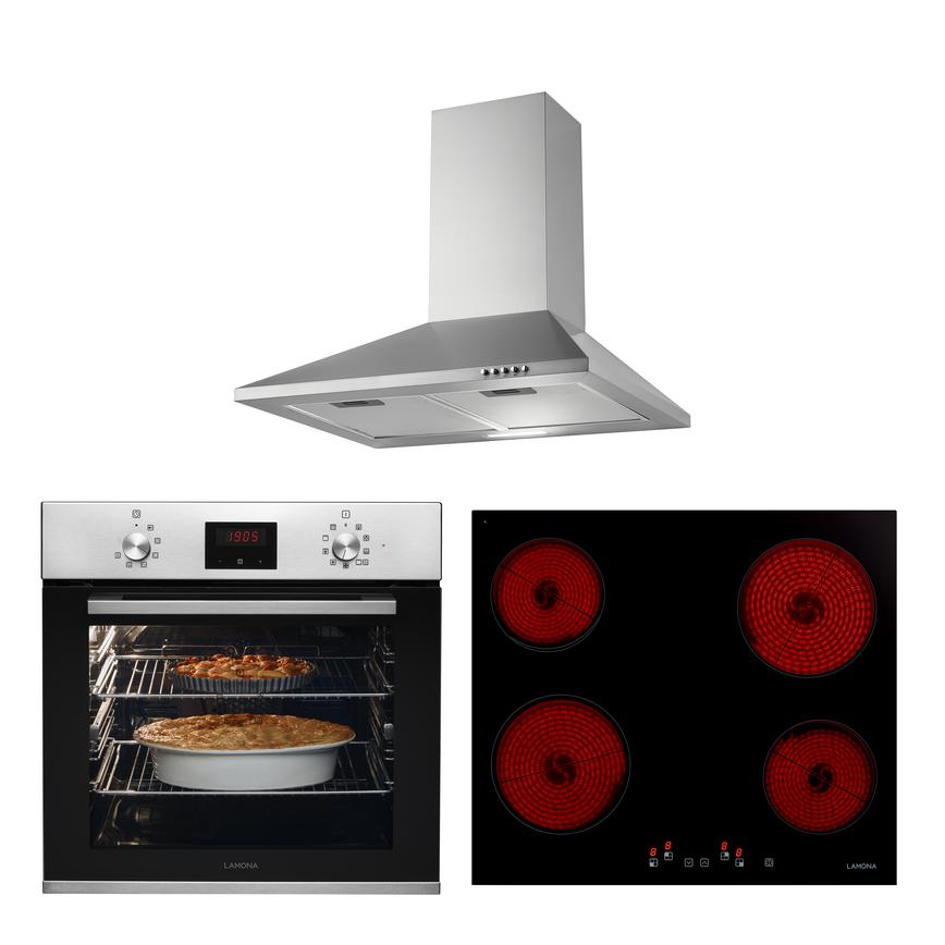 LMP9250 Oven Hob and Hood Cooking Package