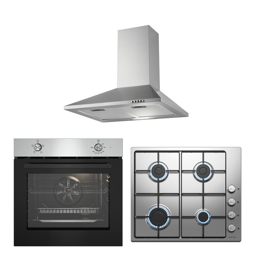 LMP9320 Oven Hob and Hood Cooking Package