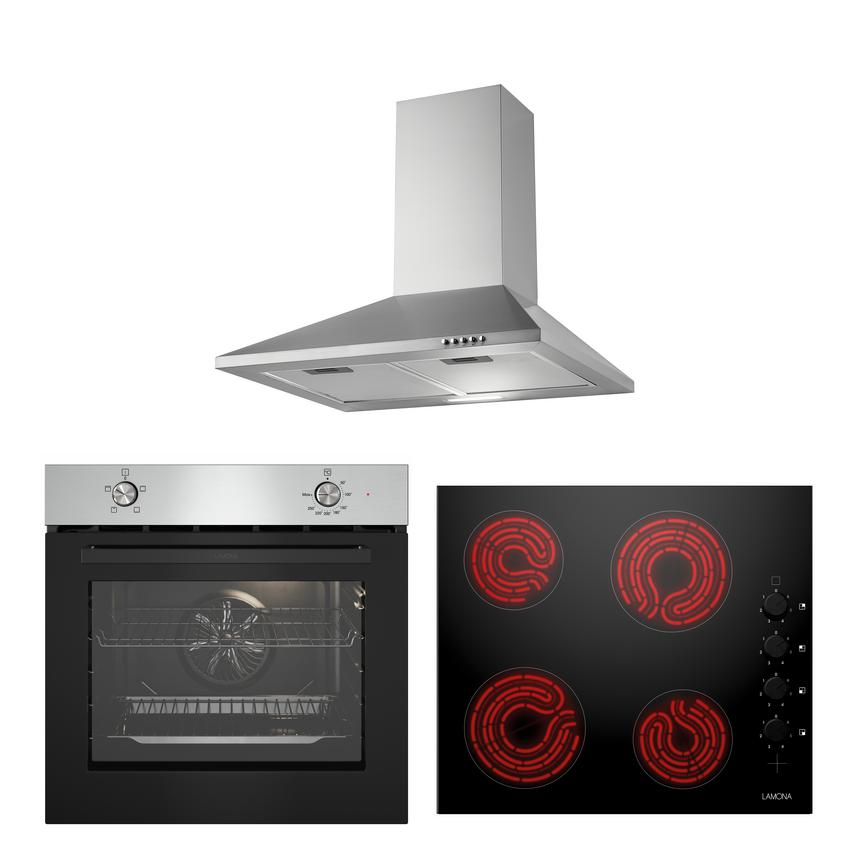 LMP9330 Oven Hob and Hood Cooking Package