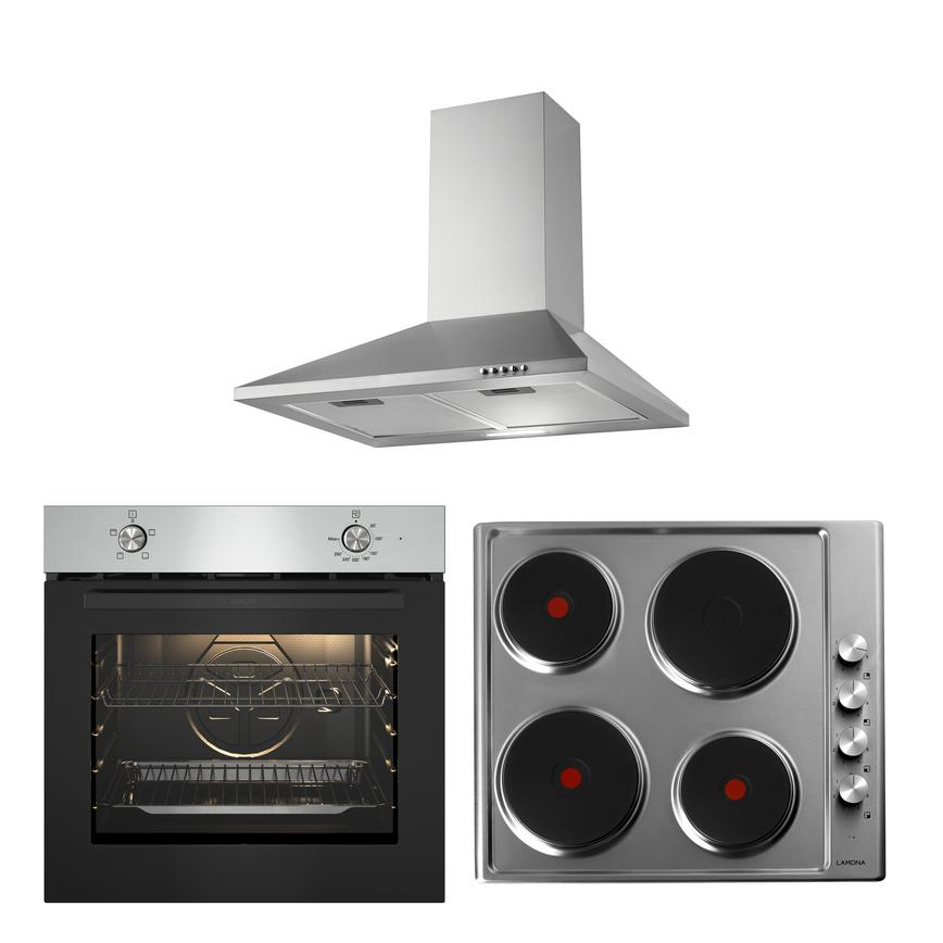 LMP9380 Oven Hob and Hood Cooking Package