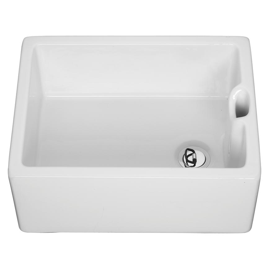 Lamona White Ceramic Belfast Sink