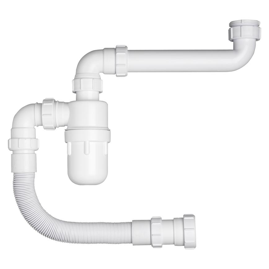 Single Bowl Flexible Plumbing Kit