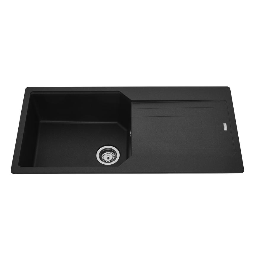 Franke Urban Single Bowl Granite Black Kitchen Sink
