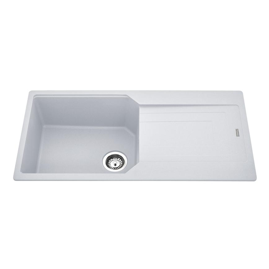Franke Urban Single Bowl Granite White Kitchen Sink