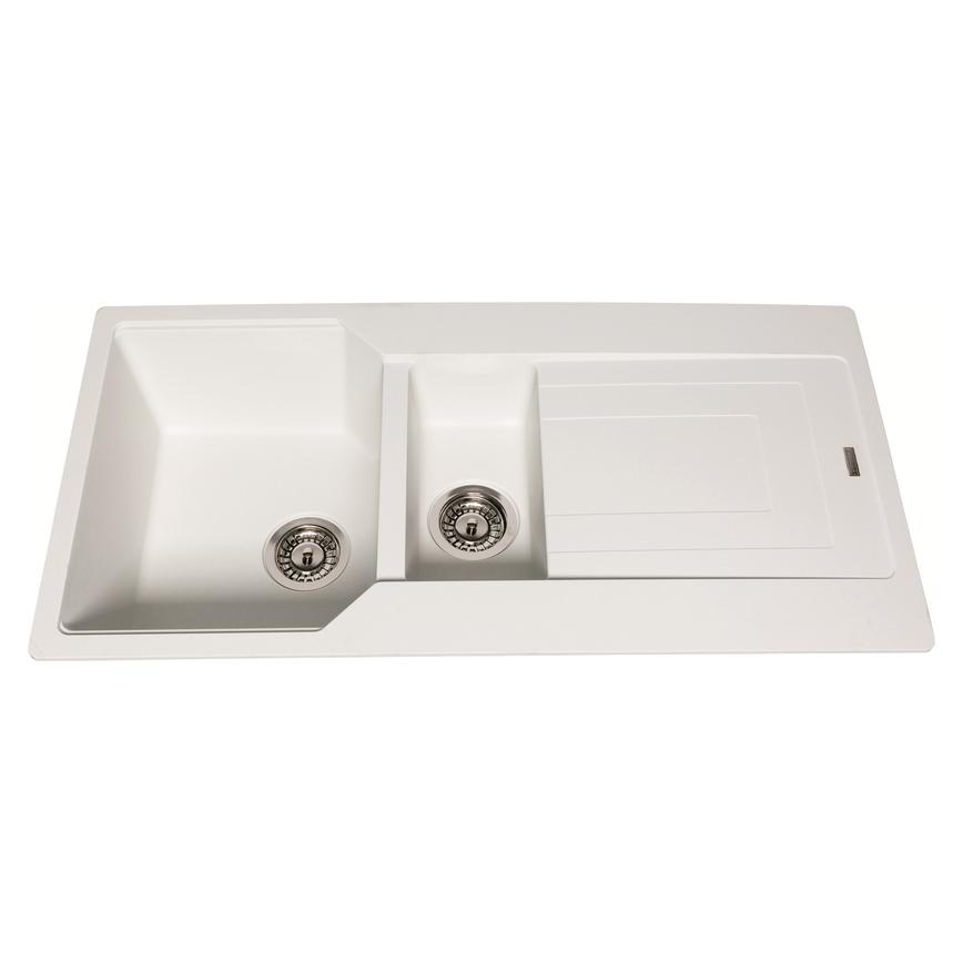 Franke Urban Polar White 1.5 Bowl Granite Sink
