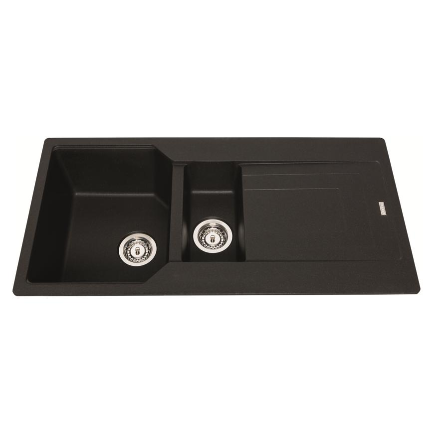 Franke Urban Black Onyx 1.5 Bowl Granite Sink