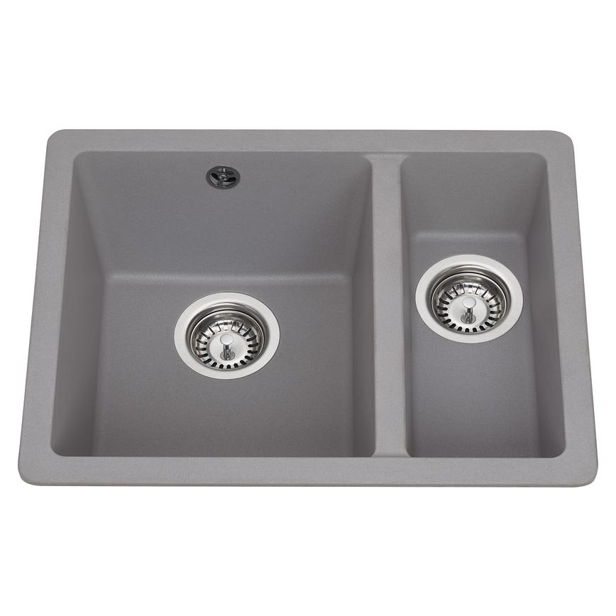 Lamona 1.5 Bowl Inset Composite Grey Kitchen Sink