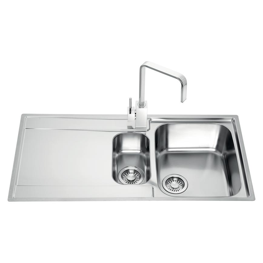 Franke Maris 1.5 Bowl Inset Stainless Steel Kitchen Sink