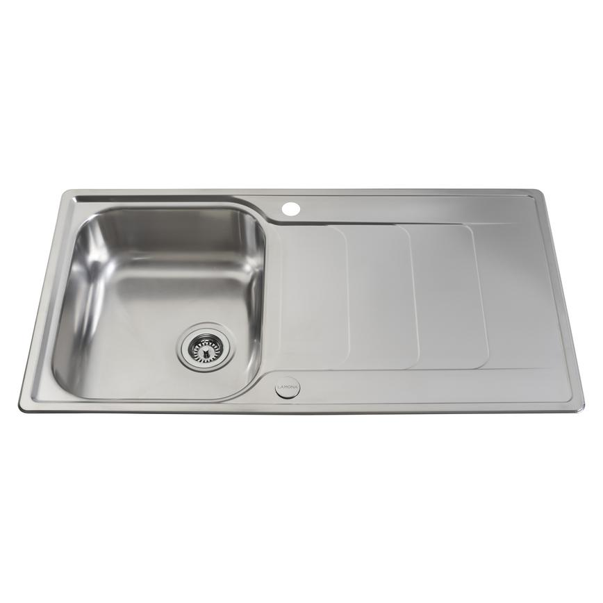 Lamona Stainless Steel Hollingworth Single Bowl Sink