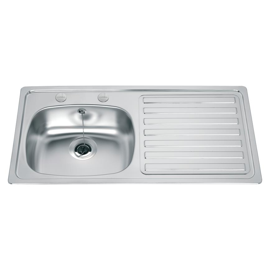 Lamona SNK0080 Single Bowl Inset Stainless Steel Kitchen Sink