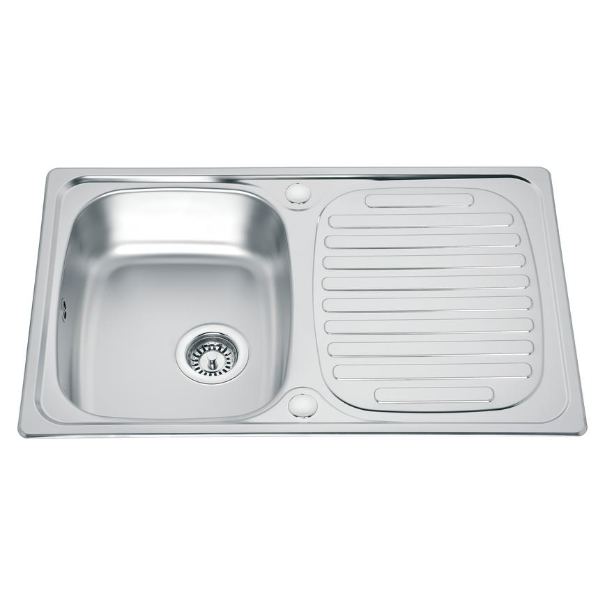 Lamona Compact Single Bowl Inset Stainless Steel Kitchen Sink