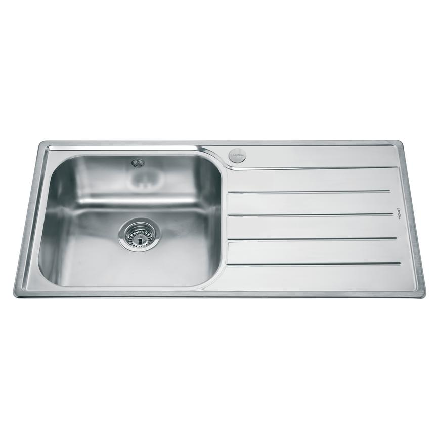 Lamona Belmont Single Bowl Inset Stainless Steel Kitchen Sink