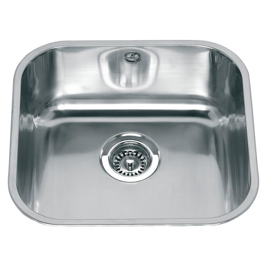 Lamona Square Single Bowl Inset Stainless Steel Kitchen Sink