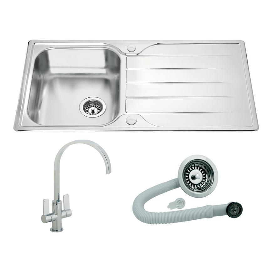Foxcote and Roya sink and tap pack