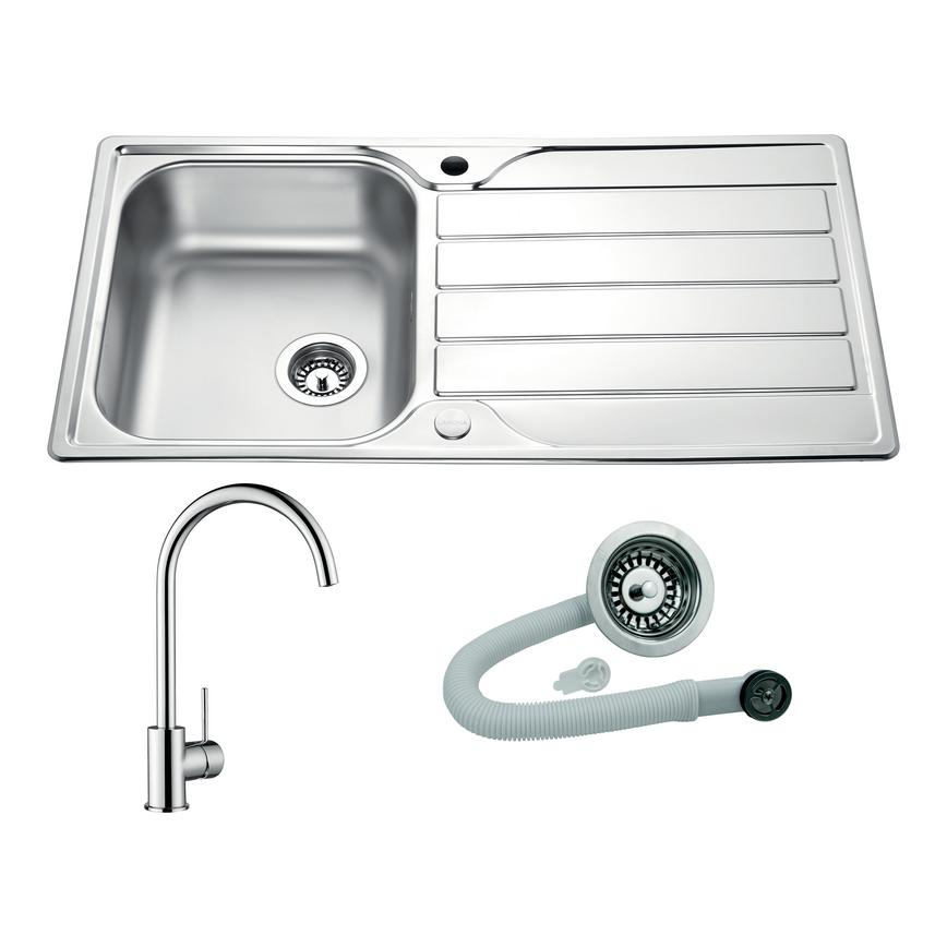 Rumworth and Alvo sink and tap package