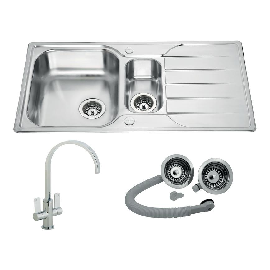 Foxcote and Roya sink and tap package