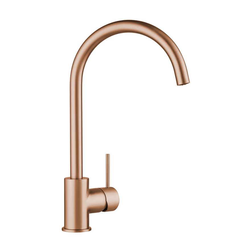 Lamona Alvo Brushed Copper Mono Mixer Tap