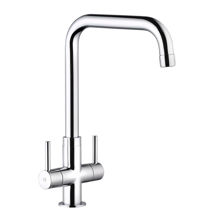 TAP3640 - Chrome right angled monobloc