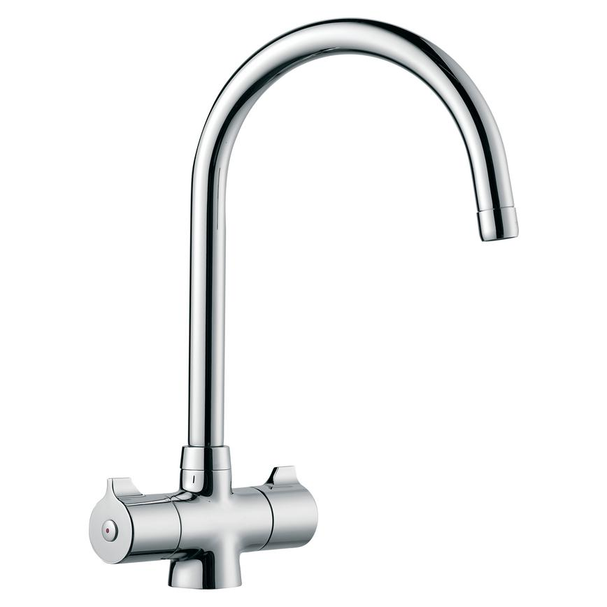 Lamona Rhone Polished Chrome Mono Mixer Tap