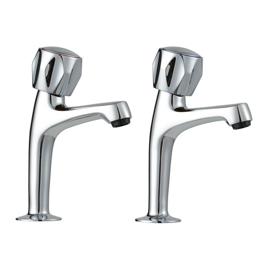 Lamona Chrome Pillar Taps
