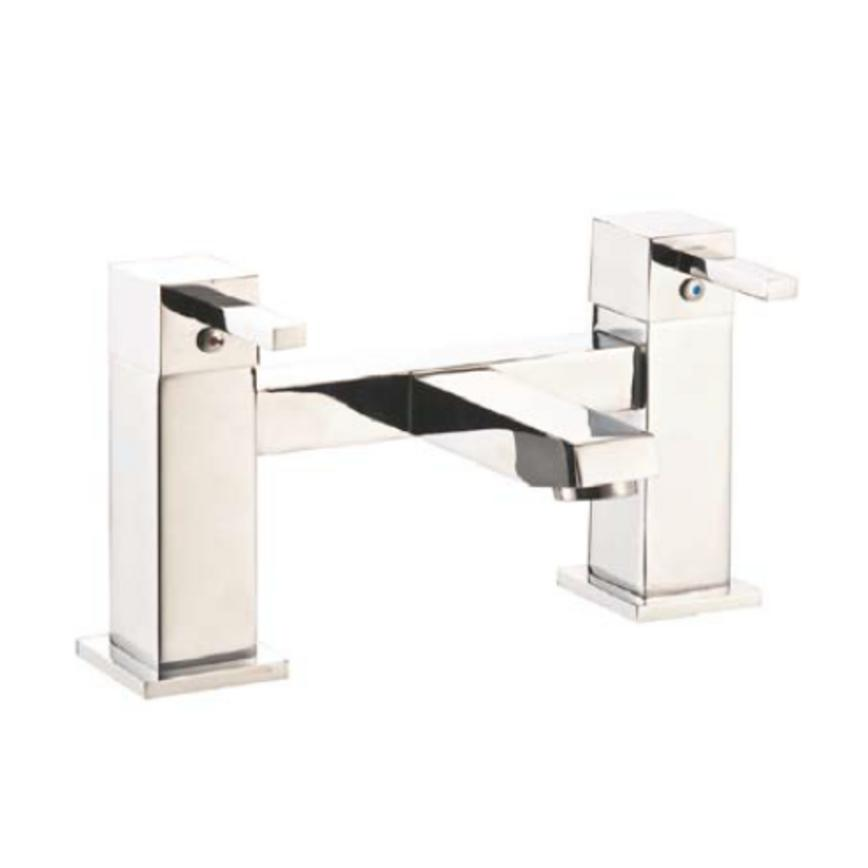 Lamona BTP1602 Square Polished Chrome Mono Mixer Bath Tap