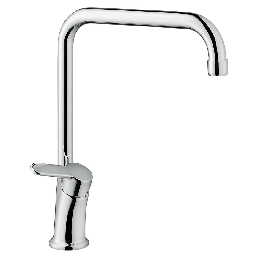 Lamona Savoca Polished Chrome Right Angled Mono Mixer Tap