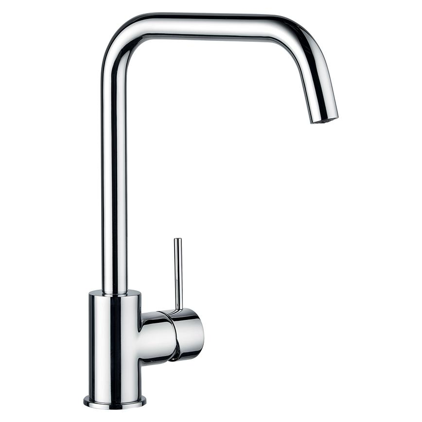Lamona Alvo Polished Chrome Right Angled Mono Mixer Tap