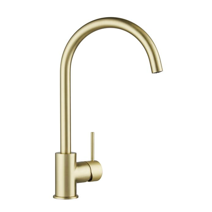 Lamona Alvo Brushed Brass Mono Mixer Tap