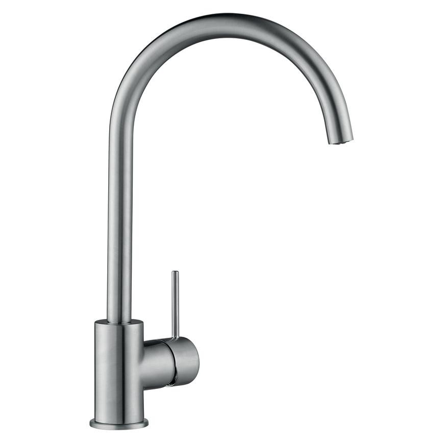 Lamona Alvo Brushed Steel Mono Mixer Tap