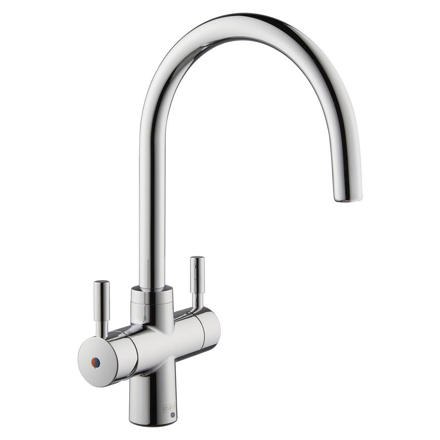 Franke Instante Polished Chrome 4 in 1 Boiling Water Tap