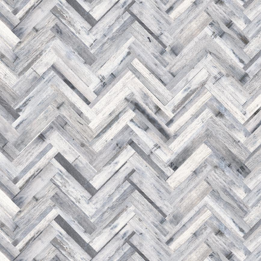Herringbone White Wash Oak Backboard
