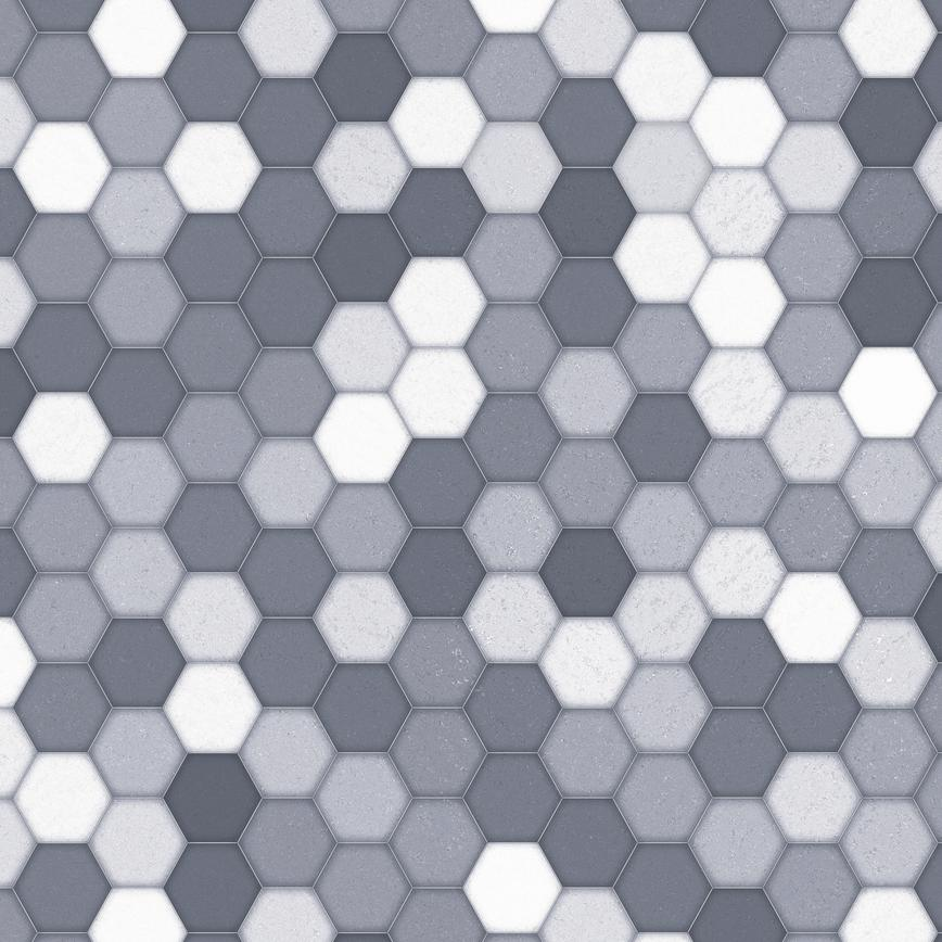 Honeycomb Grey Backboard Swatch