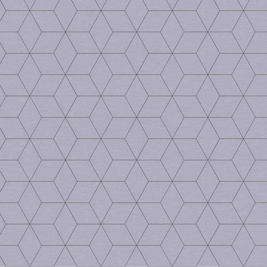 Blocked Hex Dove Grey Backboard