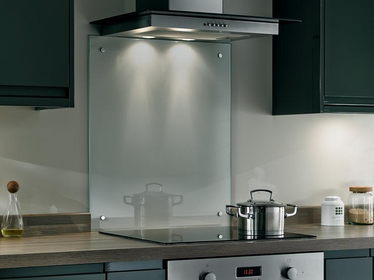Toughened Glass Clear Splashback