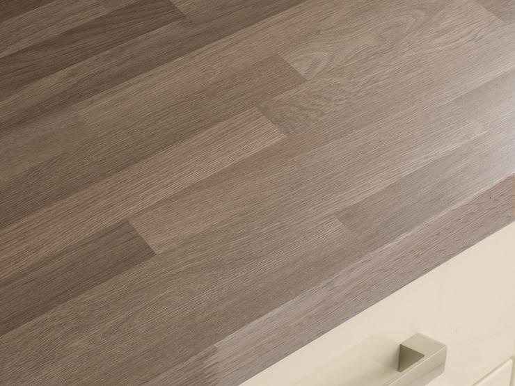 Grey Oak Block Effect Square Edged