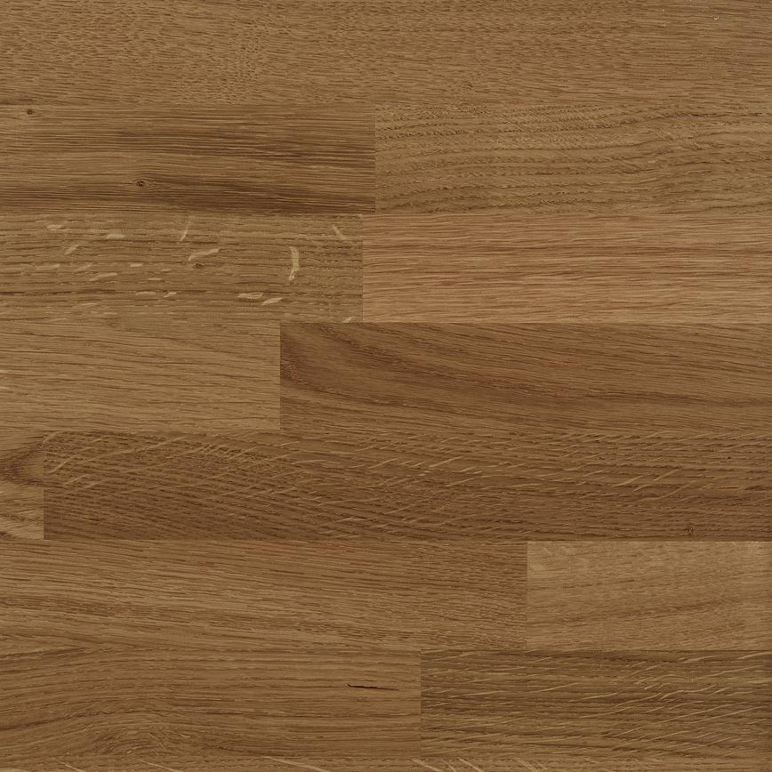 1.86m x 40mm Pre-finished Oak Solid Wood Worktop