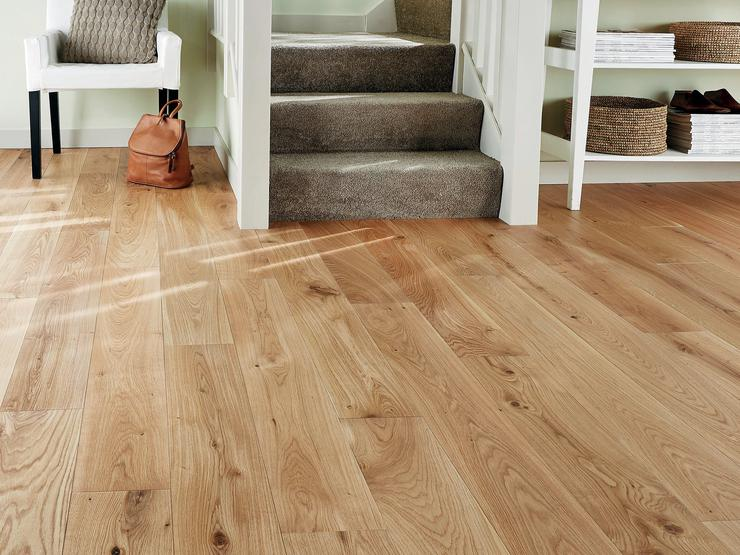 Howdens Pre-finished Solid Oiled Oak Flooring
