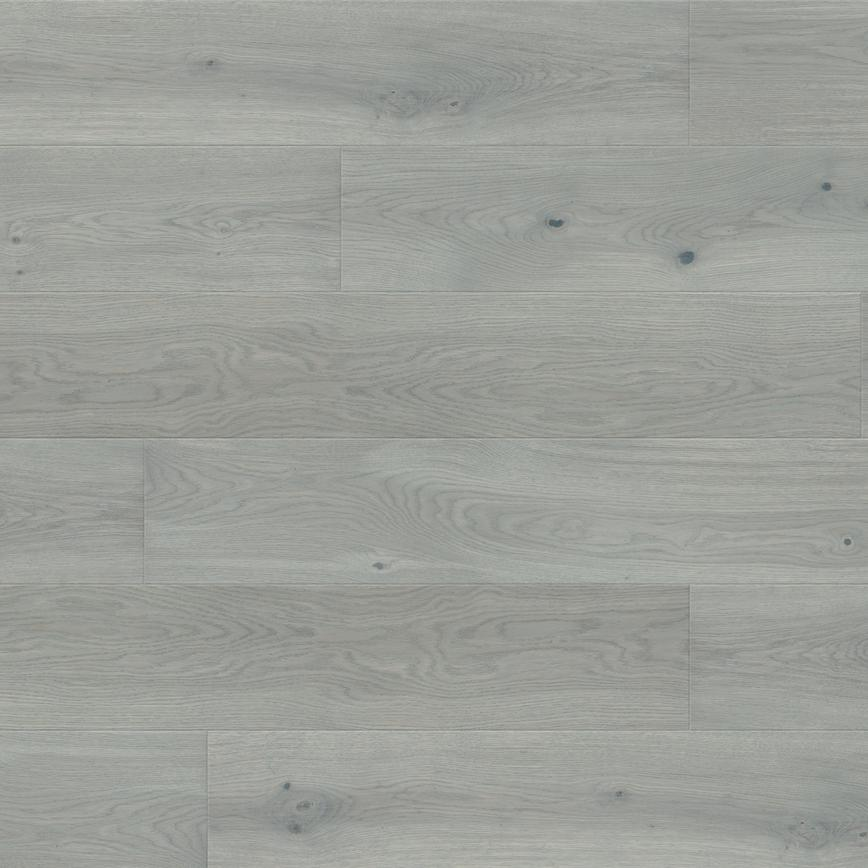 Howdens Single Plank Light Grey Oak Engineered Flooring 2.77m² Pack