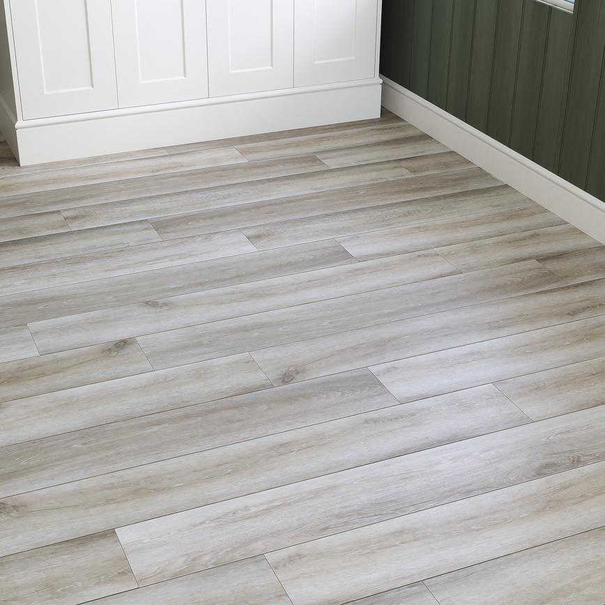 Howdens Rigid Luxury Classic Light Oak Vinyl Flooring