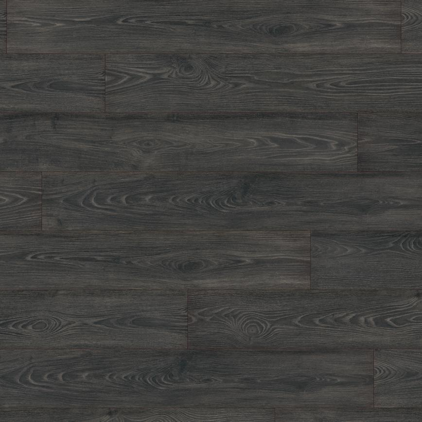 Howdens Professional Fast Fit V Groove Black Oak Laminate Flooring 1.99m² Pack