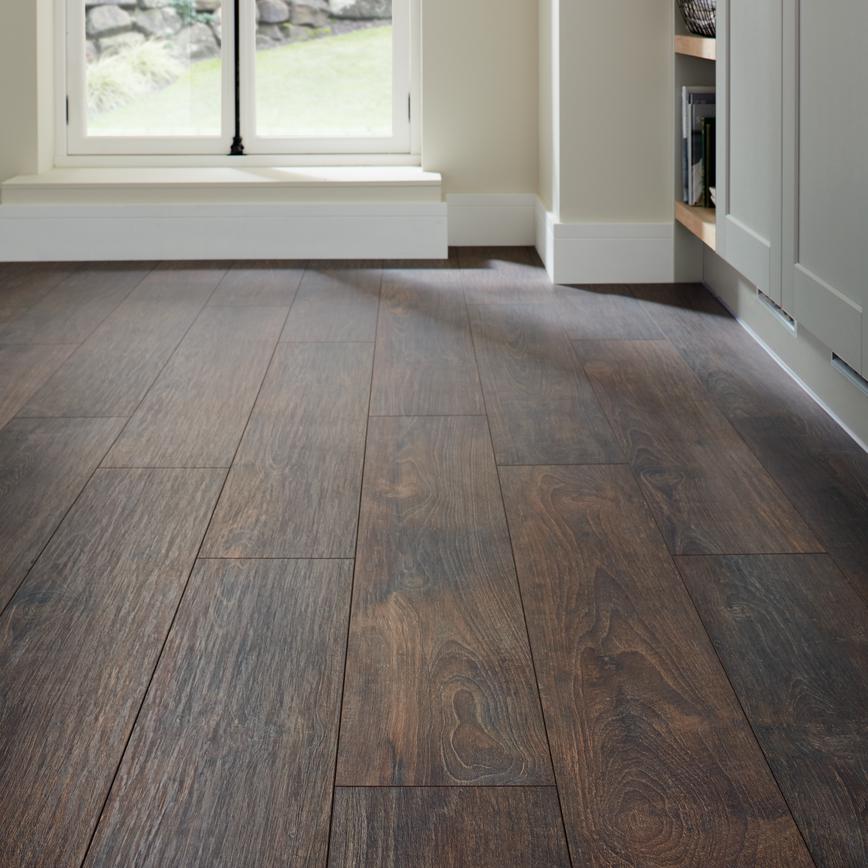 Howdens Professional Fast Fit V Groove Dark Oak Flooring 222sqm