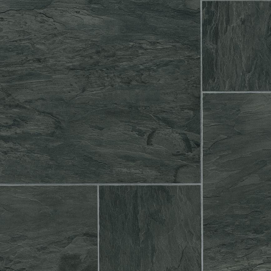 Howdens Professional Continuous Black Slate Tile