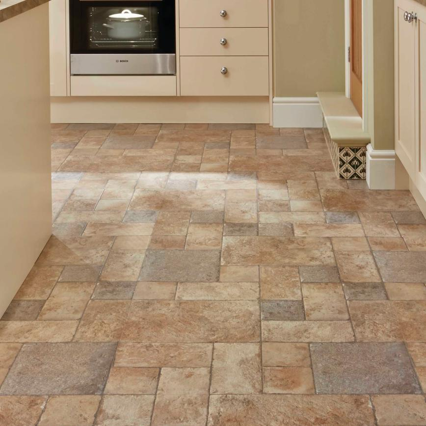 Howdens Professional Continuous Natural Stone Tile Effect