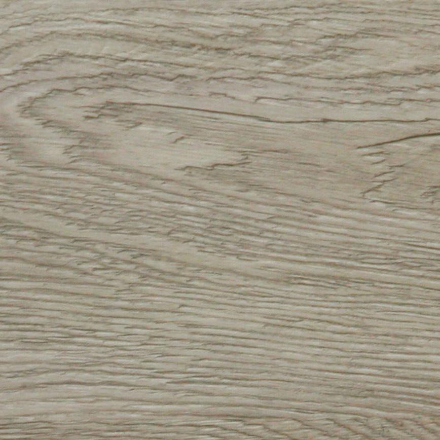 Howdens Rigid Single Plank Pearl Grey Oak Luxury Vinyl Flooring 2.2m² Pack with Underlay