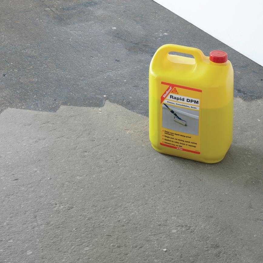 Paintable Damp Proof Membrane