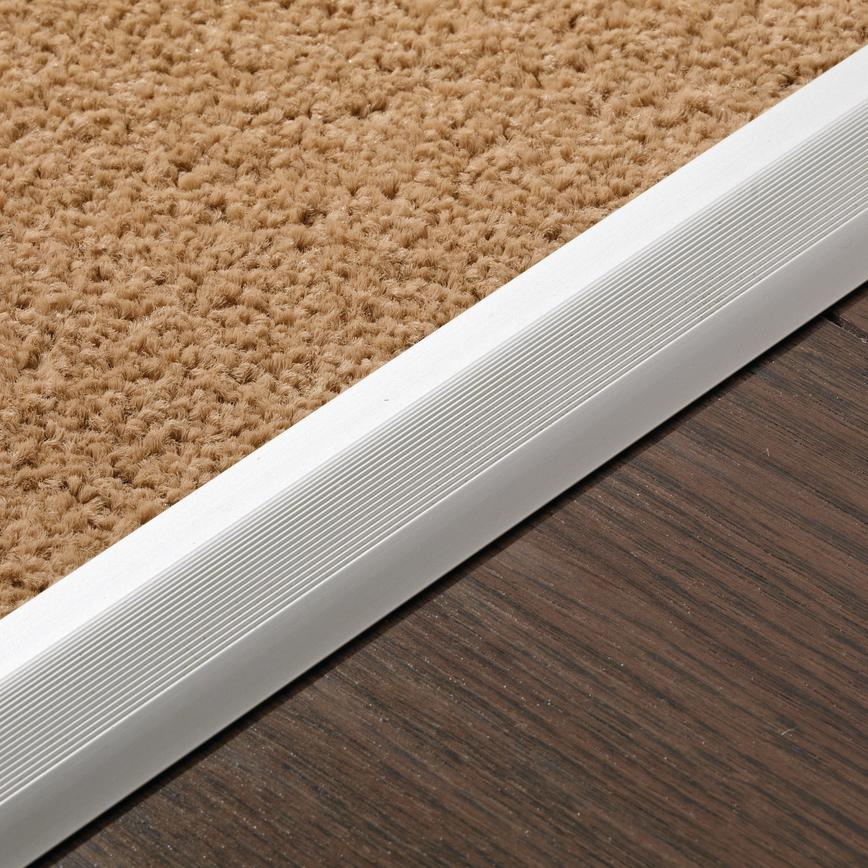 Profile B Laminate to Carpet or Linoleum